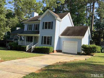 Cary Single Family Home Contingent: 104 Ferris Wheel Court