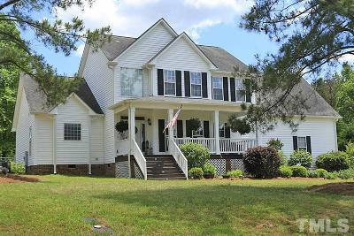 Angier Single Family Home Contingent: 99 Broom Sage Drive