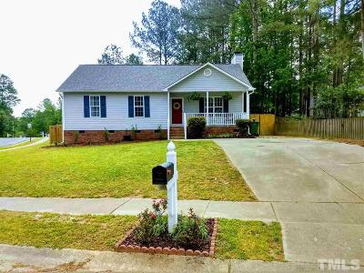 Fuquay Varina Single Family Home Pending: 701 S Phillips Pointe Drive