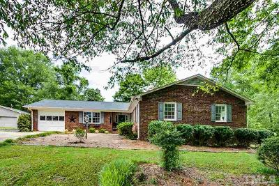 Chatham County Single Family Home Pending: 1000 Parkwood Drive