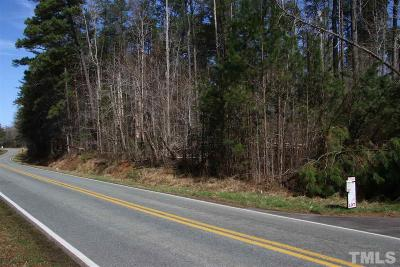 Orange County Residential Lots & Land For Sale: Oak Grove Church Road