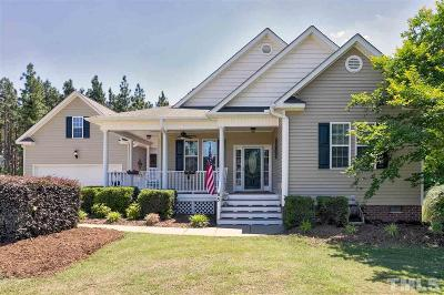 Fuquay Varina Single Family Home Contingent: 85 Sweet Samantha Court