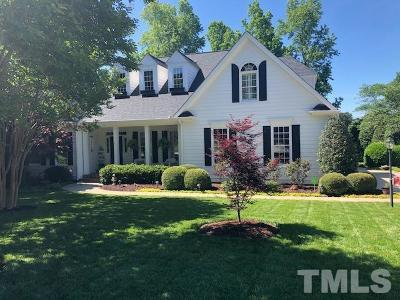 Holly Springs Single Family Home Contingent: 5208 Sunset Fairways Drive