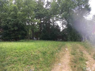 Wake County Residential Lots & Land For Sale: 1808 Poole Road