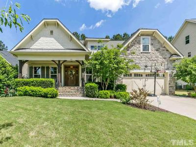 Wake Forest Single Family Home Contingent: 1133 Heritage Knoll Drive
