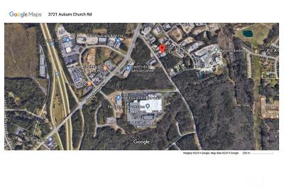 Wake County Commercial For Sale: 3721 Auburn Church Road