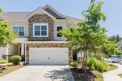 Cary Townhouse For Sale: 141 Skyros Loop