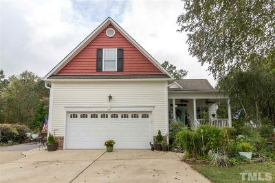 Angier Single Family Home For Sale: 18 Bounty Circle