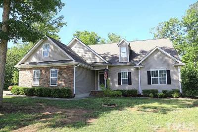 Franklinton Single Family Home Contingent: 10 Madeira Drive
