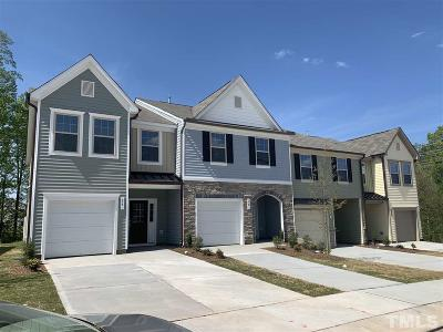 Johnston County Townhouse For Sale: 338 E Porthaven Way #146