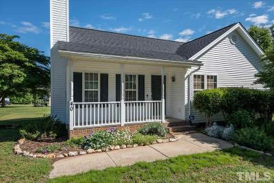Franklinton Single Family Home Contingent: 40 Hill Road