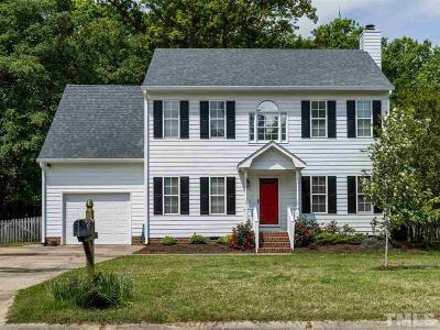 Holly Springs Single Family Home Pending: 713 Guadeloupe Court