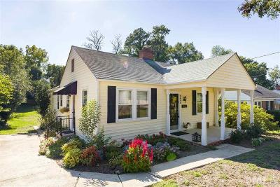 Wake County Single Family Home For Sale: 2805 Oberlin Road