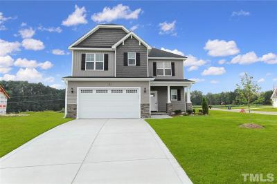 Wendell Single Family Home For Sale: 14 Heart Pine Drive