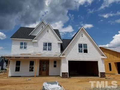 Fuquay Varina Single Family Home Pending: 1255 Dairy Glen Drive #Lot 15