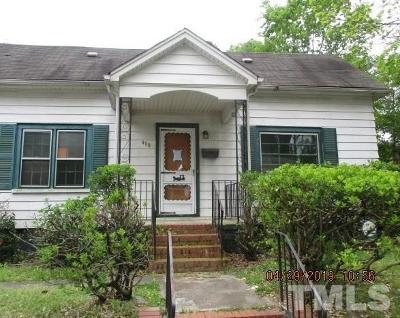 Durham Single Family Home For Sale: 408 Nelson Street