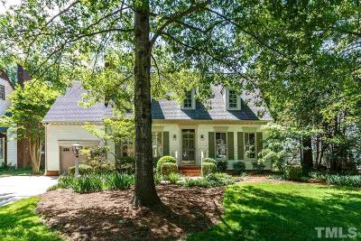 Chapel Hill Single Family Home Pending: 1332 Daventry Court