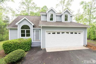 Chapel Hill Single Family Home For Sale: 9901 Oak Hollow Road