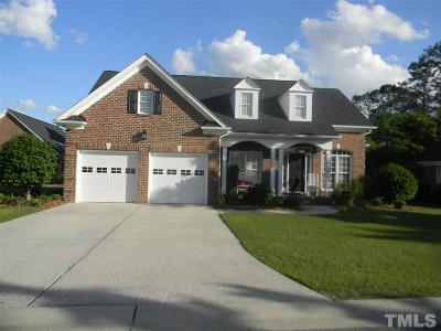 Benson Single Family Home For Sale: 102 Colonade Court