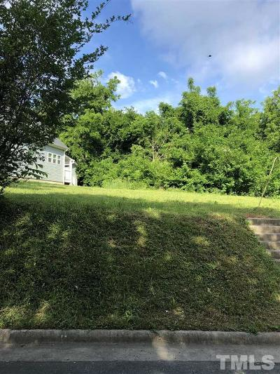 Durham County Residential Lots & Land Contingent: 106 S Plum Street