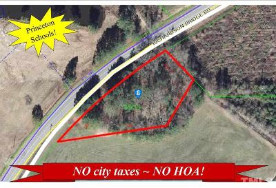 Johnston County Residential Lots & Land For Sale: 2849 Richardson Bridge Road