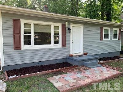 Chapel Hill Single Family Home Pending: 7715 Rogers Road