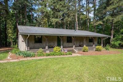 Franklin County Single Family Home Pending: 119 Suitt Road