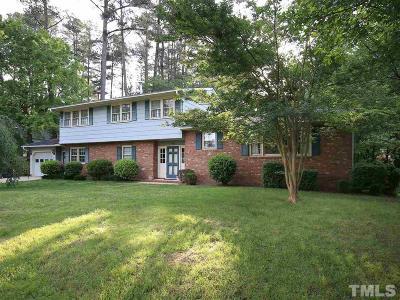 Raleigh Single Family Home For Sale: 5008 Coronado Drive