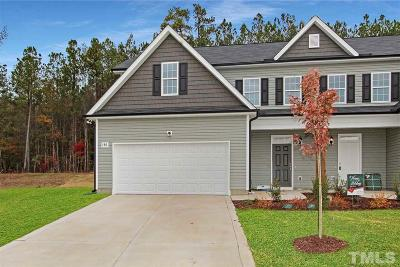 Johnston County Townhouse For Sale: 180 Highmeadow Lane