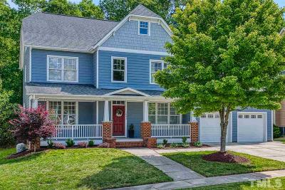 Cary Park Single Family Home Contingent: 1003 Grogans Mill Drive