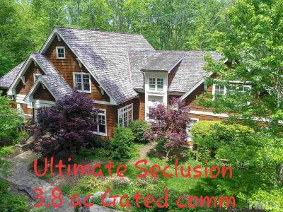 Raleigh Single Family Home For Sale: 3105 Cone Manor Lane