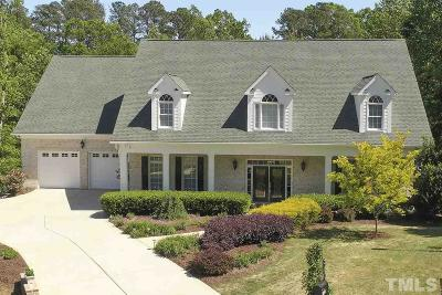 Wake County Single Family Home For Sale: 2805 Green Bark Court