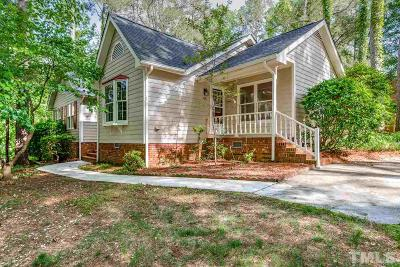 Chapel Hill Single Family Home Pending: 406 Berryhill Drive