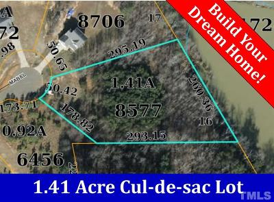 Granville County Residential Lots & Land For Sale: 3706 Mabel Lane