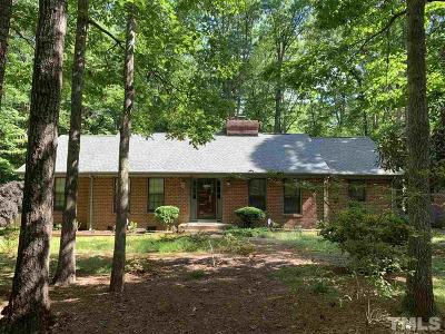 Cary Single Family Home Pending: 404 Brookcliff Lane