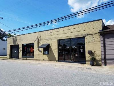 Harnett County Commercial Contingent: 6 W Ivey Street