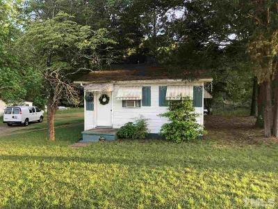 Single Family Home For Sale: 3315 Tryon Road
