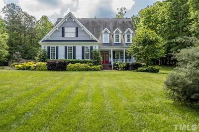 Pittsboro Single Family Home For Sale: 477 Henrys Ridge Road