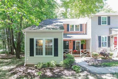 Raleigh Townhouse For Sale: 239 Wetherburn Lane
