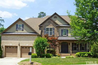 Cary Single Family Home For Sale: 308 Montelena Place