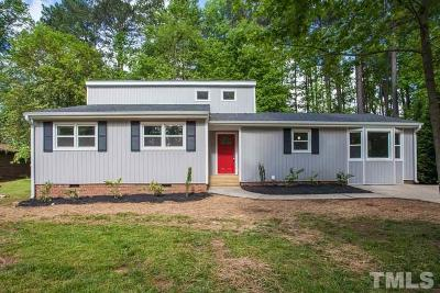 Cary Single Family Home For Sale: 508 Ryan Road