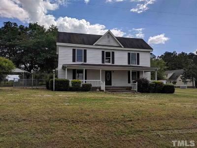Louisburg Single Family Home For Sale: 32 Bern Wilder Road
