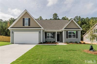 Knightdale Single Family Home For Sale: 1325 Gypsum Valley Road