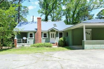 Durham Single Family Home Contingent: 1524 Stallings Road