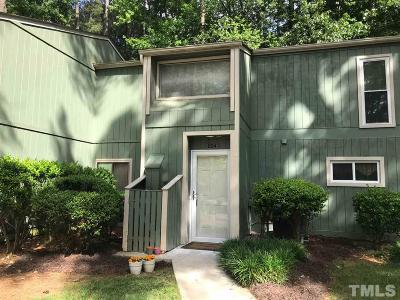 Townhouse For Sale: 604 Dylan Court