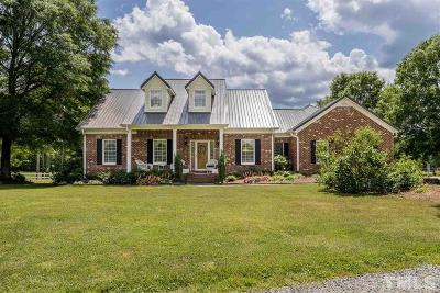 Creedmoor Single Family Home For Sale: 1605 Lawrence Road