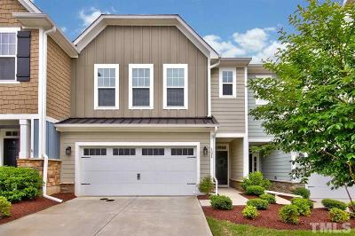 Holly Springs Townhouse For Sale: 121 Ribbon Walk Lane