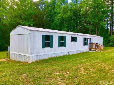 Franklin County Manufactured Home For Sale: 225 Southwood Drive