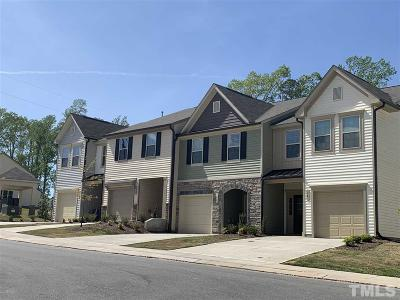 Johnston County Townhouse For Sale: 178 Wethergate Drive #Lot 195
