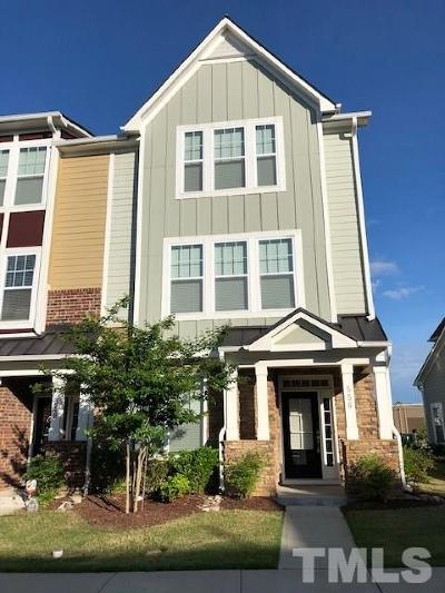 Cary Townhouse For Sale: 556 Balsam Fir Drive